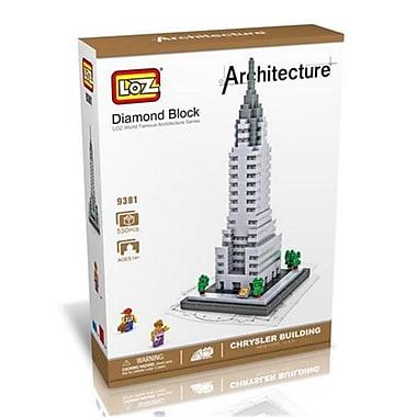 CIS Chrysler Building Model, Micro Blocks Set (CISA291)
