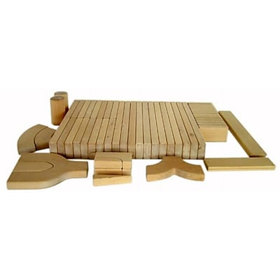 A+ Childsupply A+Solid Wood Pieces 56pcs (ACSUP008)