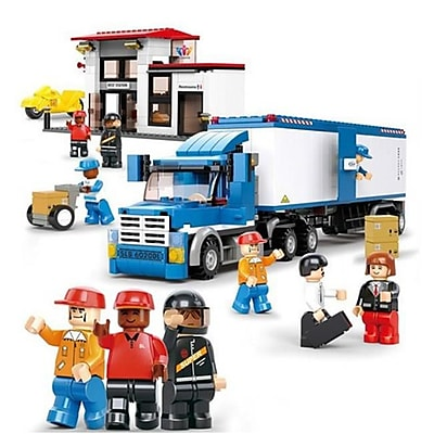 Sluban Heavy Duty Van Truck Building Block