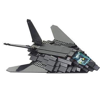 Sluban F117 Invisible Bomber Building Block Set