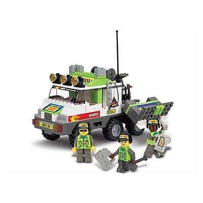 Sluban Match Working Car Building Block Set