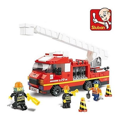 CIS Arial Ladder Truck Building Block Set