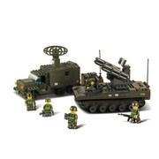 Sluban Artillery Building Block Set - 551 Bricks (CISA262)