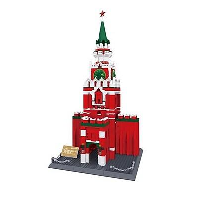 CIS The Spasskaya Tower of Moscow Kremlin