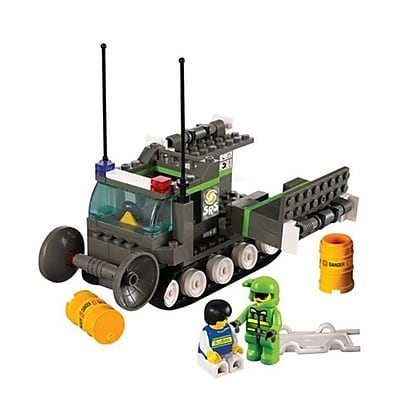 Sluban Danger Detecting Vehicle Building Block Set