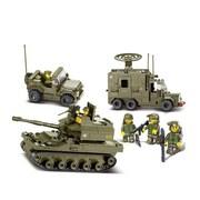 Sluban United Military Exercise Building Block Set, 576 Piece (CISA179)