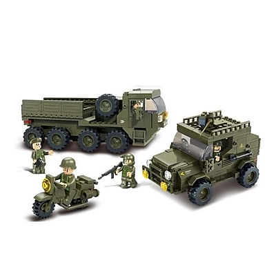 Sluban Service Troops Building Block Set -