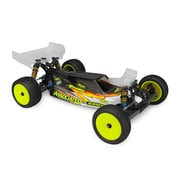 J Concepts S2-B6 & B6D Body with Aero Wing Lightweight - Clear (HPDS5196)