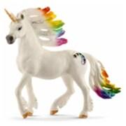 Schleich North America ainbow Stallion Unicorn Toy Figure - White (TRVAL97835)