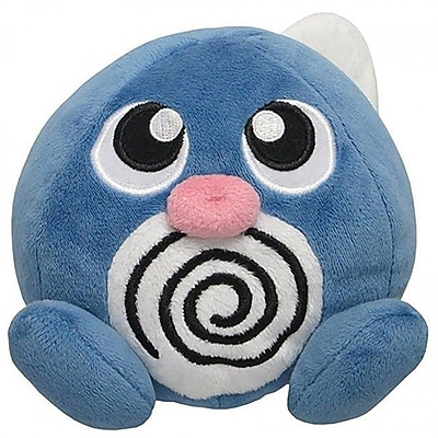 Sanei 5 in. Pokemon Poliwag Plush Toy