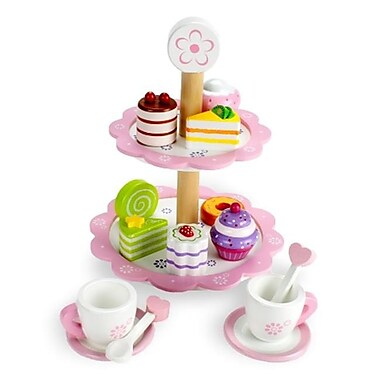 BrybellyHoldings Wood Eats Tea Time Pastry Tower (BRYBL3896)
