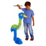 Puppet Company Marionette Giant Birds Puppet, Blue Bird - 85 in. (PUPTC193)