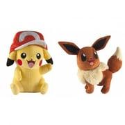 Tommo 10 in. Pokemon Plush - Pikachu & Eevee Assorted Plush Toy (INNX928)