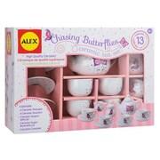 Alex Brands Chasing Butterflies Ceramic Tea Set (ALXB103)