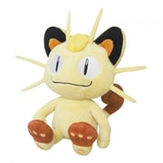 Sanei 8 in. Pokemon Meowth Plush Toy (INNX1008)