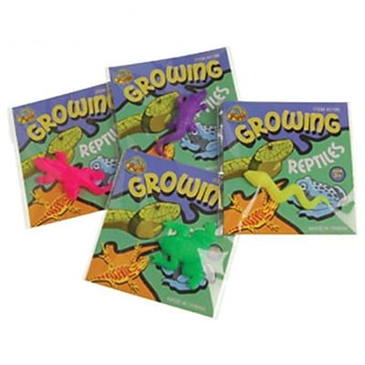 US Toy Growing Reptile Novelty Toys - 12 Per Pack - Pack of 17 (USTCYC173085) 24059341