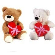 Flomo Valentine Heart Hugger Love Plush Bear - 14 in. - Case of 6 (DLR336423)