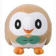 Banpresto 9 in. Pokemon Rowlet Plush Toy (INNX1022)