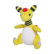 Sanei 8 in. Pokemon Ampharos Plush Toy (INNX1004)
