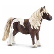 Schleich North America Shetland Pony Gelding Toy Figure - Brown & White (TRVAL98325)