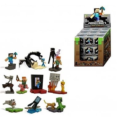 UCC 27 Piece CDU Minecraft Craftables Deluxe Buildable Figures (INNX868)