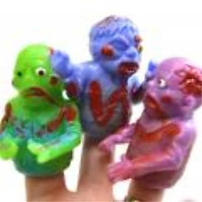 DDI Zombie Finger Puppets (DLR53050)