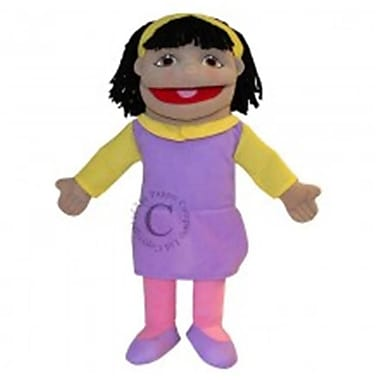 Puppet Company Small Girl Hand Puppet - Olive Skin Tone (PUPTC235)