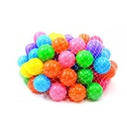 Az Import & Trading Non-Toxic Phthalate Free Crush Proof Play Balls - Assorted Colors (AZIMPT02384)