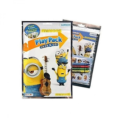 The Minions Despicable Me The Minions Play Pack Grab & Go (KMSH6039)