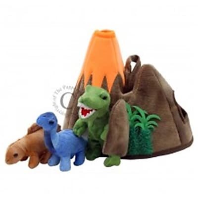 Puppet Company Hide-Away Puppet, Dinosaur Volcano -
