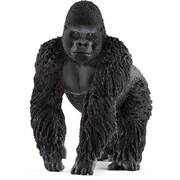 Schleich North America Male Gorilla Toy Figure, Black (TRVAL102387)