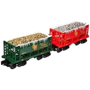 SP Whistle Stop Pennsylvania ore Car - Silver & Gold, Pack of 2 (STVN2325)