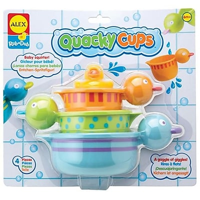 Alex Brands Rub a Dub Quacky Cups (ALXB430) 24059388