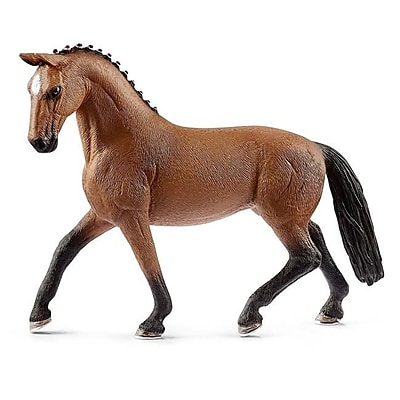 Schleich North America Hanoverian Mare Toy Figure, Brown (TRVAL102853) 24059300