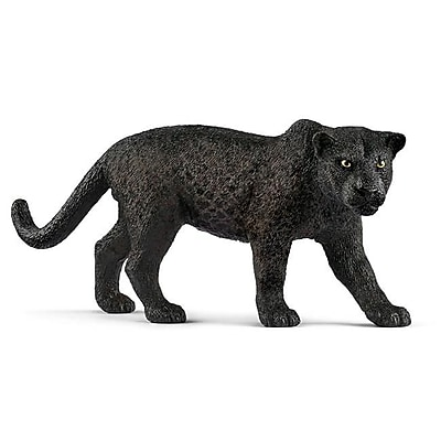 Schleich North America Plastic Panther Toy Figure, Black (TRVAL102454) 24059302