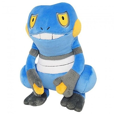 Sanei 7 in. Pokemon Croagunk Plush Toy
