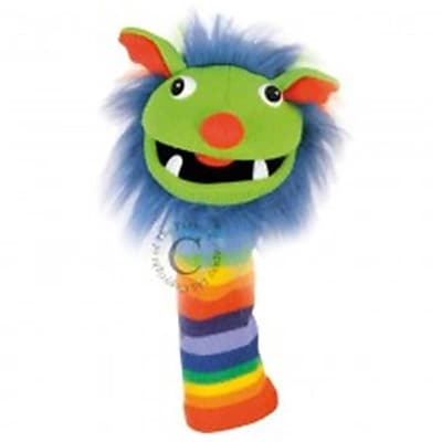 Puppet Company Knitted Puppet, Rainbow - 15