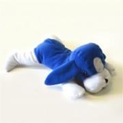 DDI Plush Dog Blue and White (DLR50943)