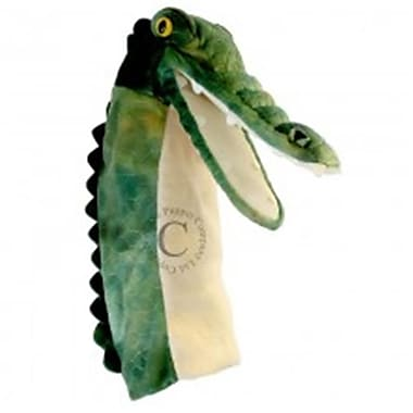Puppet Company Long-Sleeved Glove Puppet, Crocodile - 15 in. (PUPTC161)