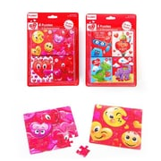 Flomo Valentines Day Design Puzzles - Pack of 4 - Case of 48 (DLR336543)