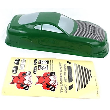 Redcat Racing 200 mm. Thunder Drift Body, Green (RCR03204)
