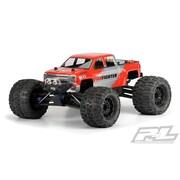 Pro-Line Racing 2014 Chevy Silverado Clear Body for Revo 3.3, T-Maxx 3.3 (HPDS7357)