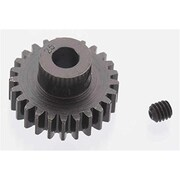 Robinson Racing Extra Hard 25 Tooth Blackened Steel 32 Pitch Pinion - 5 mm (HPDS8874)