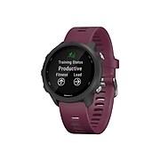 Garmin Forerunner 245 Running Watch, Berry (010-02120-01)