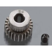 Robinson Racing Hard 48 Pitch Machined 24 Tooth Pinion - 5 mm (HPDS8812)
