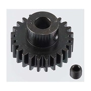 Robinson Racing Extra Hard 24 Tooth Blackened Steel 32 Pitch Pinion - 5 mm (HPDS8873)