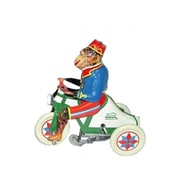 SHAN Collectible Tin Toy - Monkey on Tricycle (AXNRT1844)