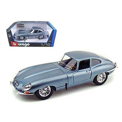 Bburago 1961 Jaguar E Type Coupe Blue