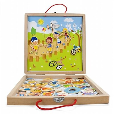Brybelly Holdings Wooden Wonders Four Seasons Magnetic