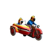 SHAN Collectible Tin Toy - Motorcyle with Sidecar (AXNRT1793)
